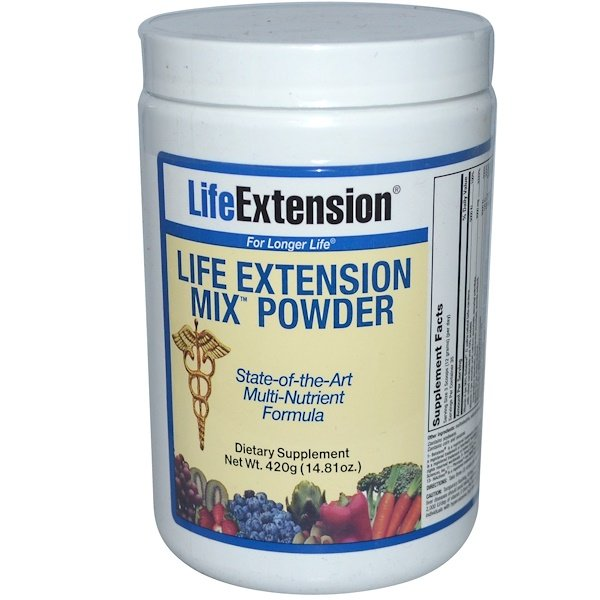Life Extension, Mix Powder, 14.81 oz (420 g) (Discontinued Item)