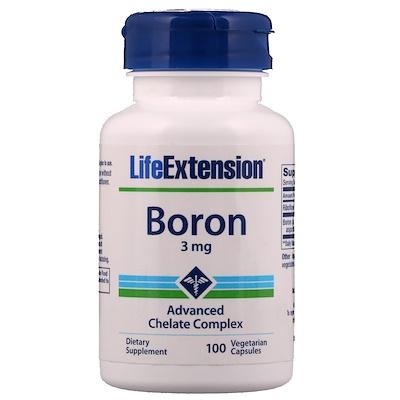 хлорофиллин 100 мг 100 вегетарианских капсул Boron, 3 мг, 100 вегетарианских капсул