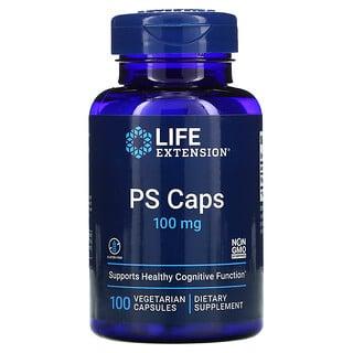 Life Extension, PS Caps, 100 mg, 100 Vegetarian Capsules