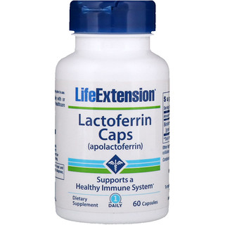 Life Extension, Lactoferrin Caps, 60 Capsules