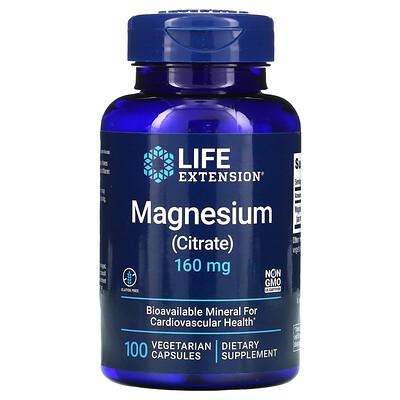 Купить Life Extension магний, 160мг, 100вегетарианских капсул