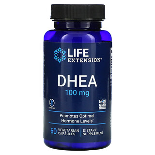 Life Extension, DHEA, 100 mg, 60 Vegetarian Capsules