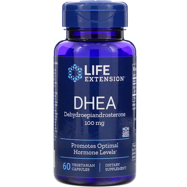 Life Extension, DHEA, 100 mg, 60 Vegetarian Capsules