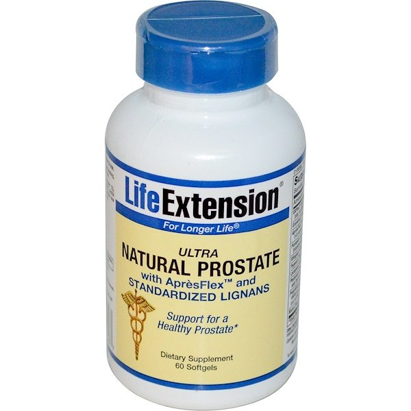 Life Extension, Ultra Natural Prostate, 60 Softgels (Discontinued Item)