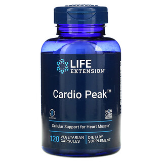 Life Extension, Cardio Peak, 120вегетарианских капсул