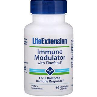 Life Extension, Immune Modulator with Tinofend, 60 Vegetarian Capsules