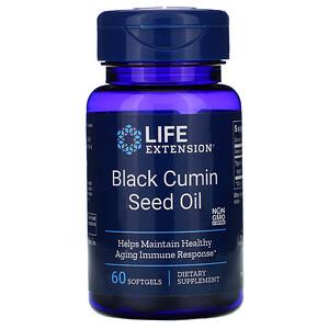 Лайф Экстэншн, Black Cumin Seed Oil, 60 Softgels отзывы покупателей