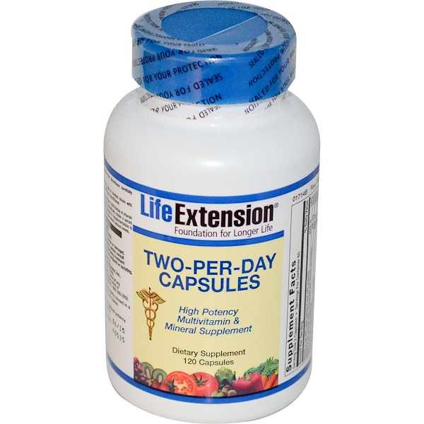 Life Extension, 1日2カプセル、120カプセル (Discontinued Item)