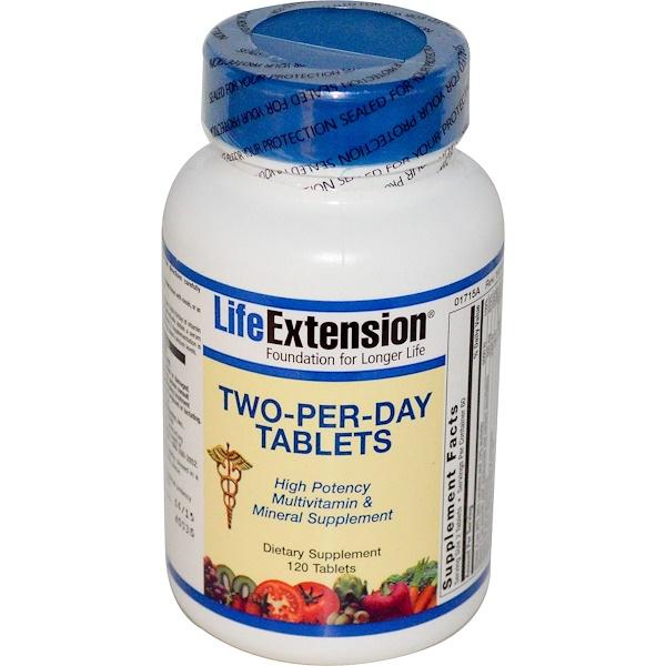 Life Extension, 1日2錠、120錠 (Discontinued Item)