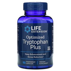 Лайф Экстэншн, Optimized Tryptophan Plus, 90 Vegetarian Capsules отзывы покупателей