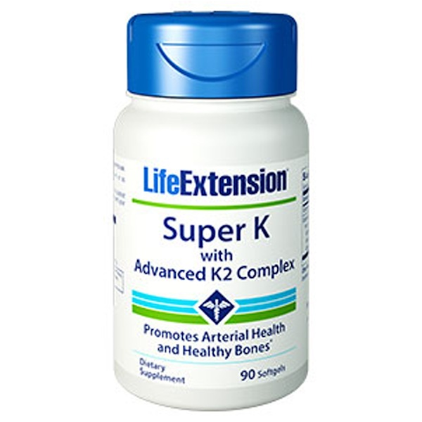 Life Extension, Super K with Advanced K2 Complex, 90 Softgels (Discontinued Item)