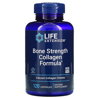 Life Extension, Bone Strength Collagen Formula, 120 Capsules