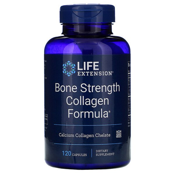 Bone Strength Collagen Formula, 120 Capsules