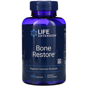 Лайф Экстэншн, Bone Restore, 120 Capsules отзывы