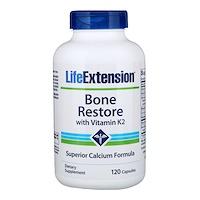 Bone Restore, с витамином K2, 120 капсул - фото