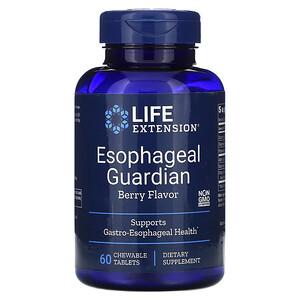 Лайф Экстэншн, Esophageal Guardian, Berry Flavor, 60 Chewable Tablets отзывы