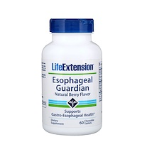 Life Extension, Esophageal Guardian, Natural Berry Flavor