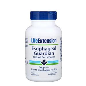 Лайф Экстэншн, Esophageal Guardian, Natural Berry Flavor, 60 Chewable Tablets отзывы