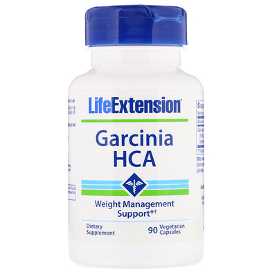 Купить Life Extension Гарциния ГЛК, 90 вегетарианских капсул