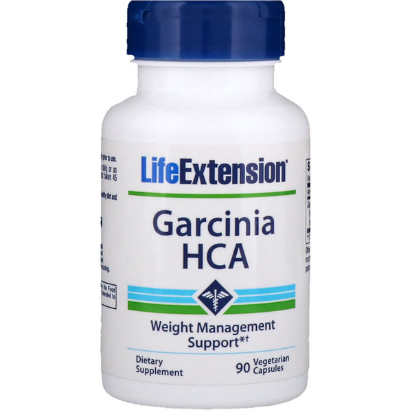 Life Extension, Garcinia HCA, 90 Vegetarian Capsules (Discontinued Item)