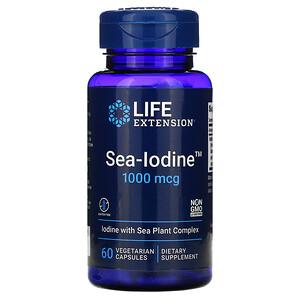 Лайф Экстэншн, Sea-Iodine, 1,000 mcg, 60 Vegetarian Capsules отзывы
