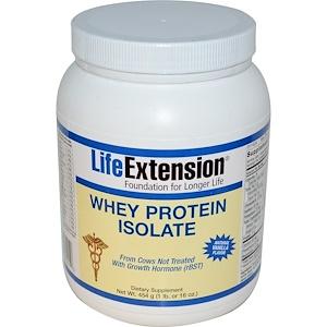 Лайф Экстэншн, Whey Protein Isolate, Natural Vanilla Flavor, 16 oz (454 g) отзывы