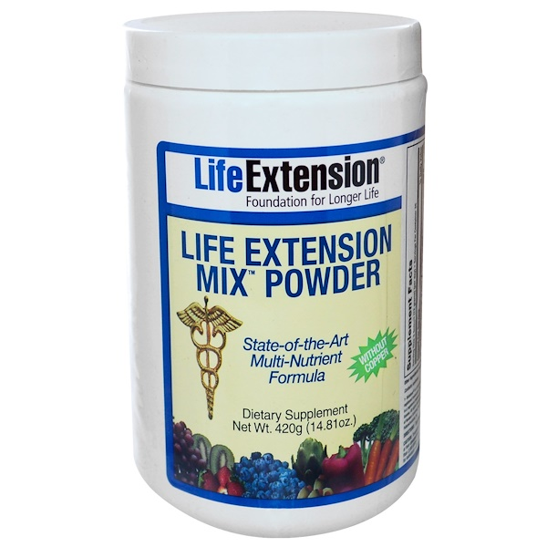 Life Extension, Mix Powder without Copper, 14.81 oz (420 g) (Discontinued Item)