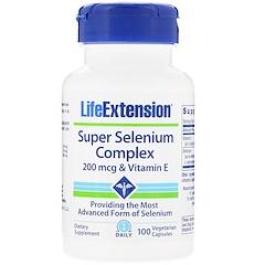 Life Extension, Super Selenium Complex, 100 Vegetarian Capsules