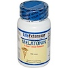 Life Extension, Melatonin, 6 Hour Timed Release, 750 mcg, 60 Veggie Tabs