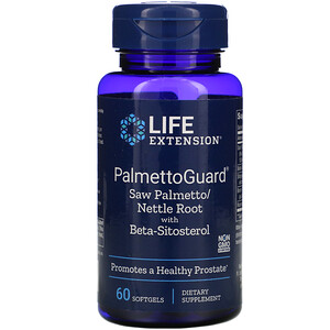 Лайф Экстэншн, PalmettoGuard Saw Palmetto/Nettle Root with Beta-Sitosterol, 60 Softgels отзывы