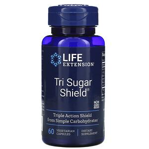 Лайф Экстэншн, Tri Sugar Shield, 60 Vegetarian Capsules отзывы