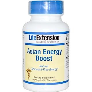 Life Extension, Asian Energy Boost, 90 растительных капсул