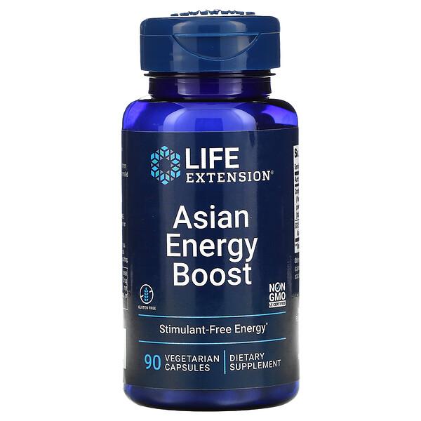 Asian Energy Boost, 90 Vegetarian Capsules