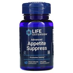 Life Extension, 高級食欲控制素食膠囊,60 粒裝
