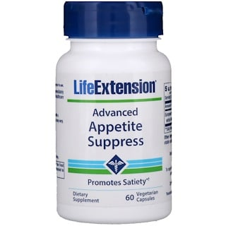 Life Extension, Advanced Natural Appetite Suppress, 60 Veggie Caps