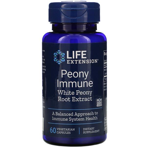 Peony Immune, 60 Vegetarian Capsules