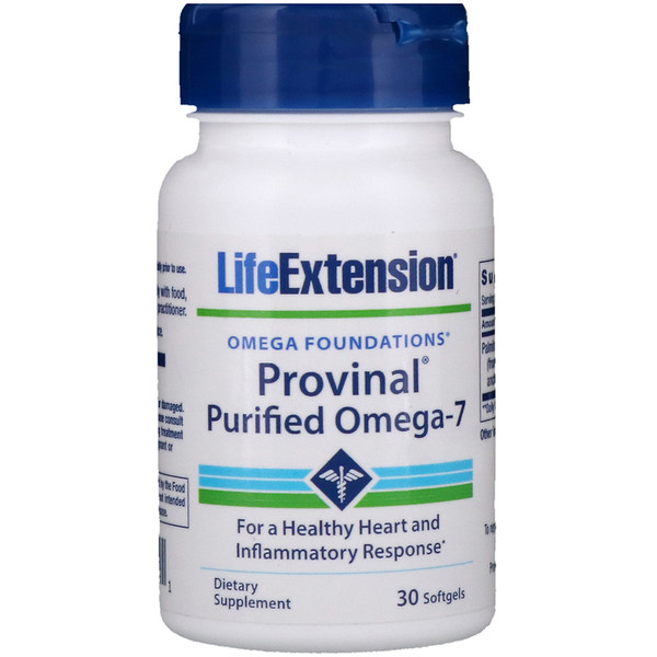 Provinal Purified Omega-7, 30 Softgels