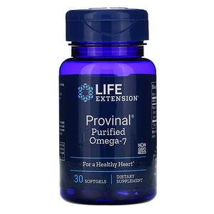 Лайф Экстэншн, Provinal Purified Omega-7, 30 Softgels отзывы