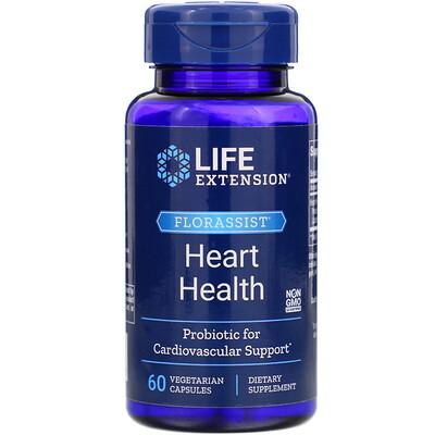 FLORASSIST Heart Health, 60 Vegetarian Capsules florassist heart health 60 vegetarian capsules