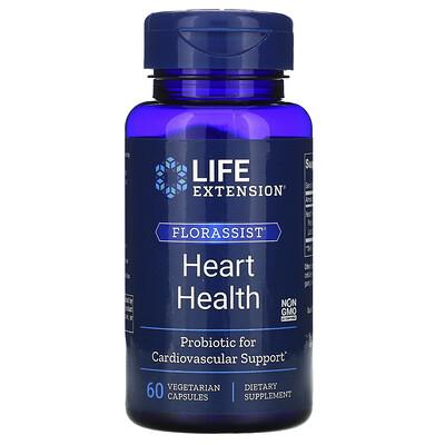 Life Extension FLORASSIST Heart Health, 60 Vegetarian Capsules