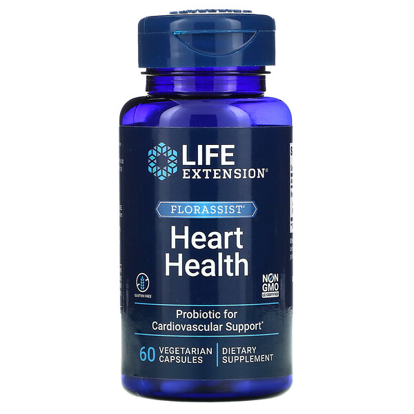 Life Extension, FLORASSIST Heart Health, 60 Vegetarian Capsules