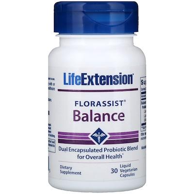 FLORASSIST Balance, 30 Liquid Vegetarian Capsules florassist heart health 60 vegetarian capsules