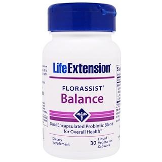 Life Extension, FlorAssist, Balance, 30 Liquid Veggie Caps