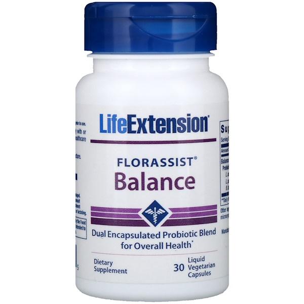 Florassist Balance, 30 Liquid Vegetarian Capsules