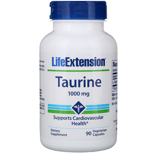 Life Extension, Taurin, 1000 mg, 90 Veggie-Caps