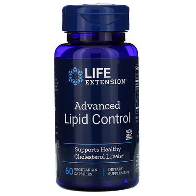 Купить Life Extension Advanced Lipid Control, 60 Vegetarian Capsules