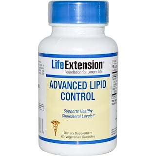 Life Extension, Advanced Lipid Control, 60 Veggie Caps