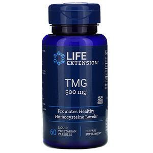 Лайф Экстэншн, TMG, 500 mg, 60 Liquid Vegetarian Capsules отзывы