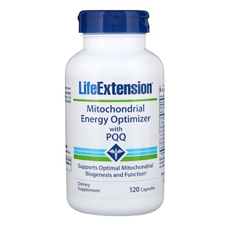 Life Extension, Mitochondrial Energy Optimizer with PQQ, 120 Capsules