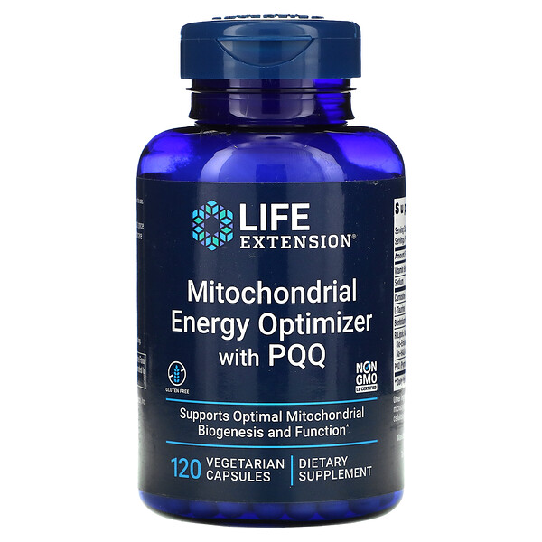 Mitochondrial Energy Optimizer with PQQ, 120 Vegetarian Capsules